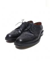 ALDEN(オールデン)の古着「ウィングチップシューズ」 ブラック
