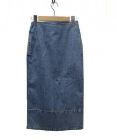 MADISON BLUE(マディソンブルー)の古着「デニムタイトスカート」|インディゴ