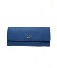 COACH(コーチ)の古着「長財布」|ブルー