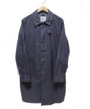 02DERIV(ツーディライブ)の古着「ステンカラーコート」|グレー