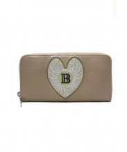 BALMAIN(バルマン)の古着「長財布」|ベージュ