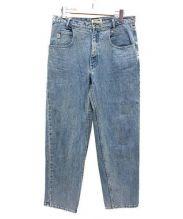 GUESS(ゲス)の古着「ヴィンテージデニムパンツ」|ブルー