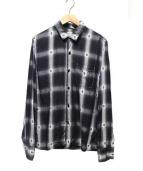 REMI RELIEF(レミレリーフ)の古着「レーヨンシャツ」 グレー