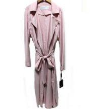 DOUBLE STANDARD CLOTHING(ダブルスタンダードクロージング)の古着「ゆるトレンチコート」|ピンク