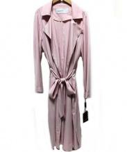 DOUBLE STANDARD CLOTHING(ダブルスタンダードクロージング)の古着「ゆるトレンチコート」 ピンク