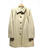 OLD ENGLAND(オールドイングランド)の古着「裏地リネン混コート」|ベージュ