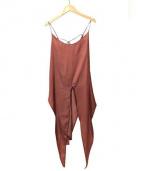 jonnlynx(ジョンリンクス)の古着「キャミソールブラウス」|ピンク