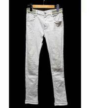 jonnlynx(ジョンリンクス)の古着「ストレッチスキニーデニムパンツ」|グレー