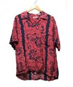 Sun_Surf(サン サーフ)の古着「アロハシャツ」|レッド×ネイビー