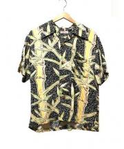 Sun_Surf(サン サーフ)の古着「アロハシャツ」 イエロー×ブラック