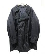 Y's×ASPESI(ワイズ アスペジ)の古着「コラボビックシルエット中綿コート」 ブラック