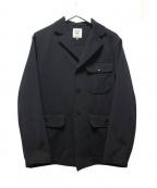 JACKMAN(ジャックマン)の古着「ボンディングジャケット」 ブラック