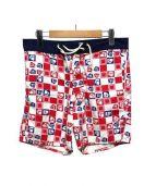SUNNY SPORTS(サニースポーツ)の古着「ショートパンツ」|レッド×ネイビー