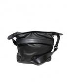 MAKE WHAT YOU WILL(メイクワットユーウィル)の古着「レザーショルダーバッグ」|ブラック