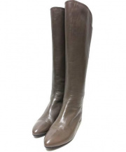 MARELLA(マレーラ)の古着「ゴートレザーロングブーツ」 ブラウン