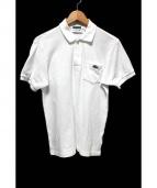 LACOSTE(ラコステ)の古着「半袖ポロシャツ」|ホワイト