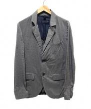 AQUARAMA(アクアラマ)の古着「ナイロンテーラードジャケット」|グレー