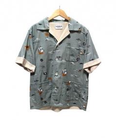 WEIRDO(ウィアード)の古着「オープンカラーシャツ」|グリーン