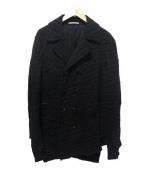 COMME des GARCONS HOMME PLUS(コムデギャルソンオムプリュス)の古着「ウールコート」|ブラック