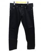DELUXE(デラックス)の古着「コーティングパンツ」|ブラック