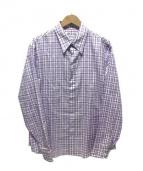ARMANI COLLEZIONI(アルマーニ コレッツィオーニ)の古着「長袖シャツ」|パープル