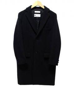 BEAUTY&YOUTH(ビューティアンドユース)の古着「メルトンチェスターコート」|ブラック