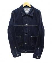 ONIKI(オニキ)の古着「デニムカバーオール」 インディゴ