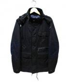 Barbour × White Mountaineering(バブアー×ホワイトマウンテニアリング)の古着「中綿オイルドジャケット」|ネイビー