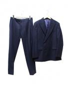 THE SUIT COMPANY(ザスーツカンパニ)の古着「ダブルセットアップスーツ」|ネイビー