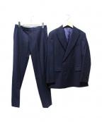 THE SUIT COMPANY(ザ・スーツカンパニー)の古着「ダブルセットアップスーツ」|ネイビー
