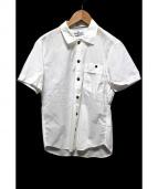 STONE ISLAND(ストーンアイランド)の古着「半袖シャツ」|ホワイト