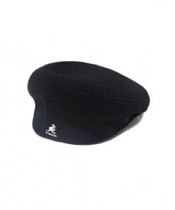 KANGOL×MASTERMIND(カンゴール×マスターマインド)の古着「ベレー帽」|ブラック