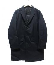 DESCENTE(デサント)の古着「ダウンチェスターコート」|ネイビー