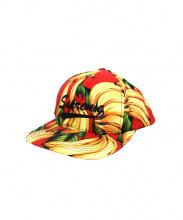 SUPREME(シュプリーム)の古着「6パネルバナナキャップ」|レッド×イエロー