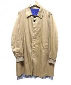 JohnUNDERCOVER(ジョンアンダーカバー)の古着「ロングコート」|ベージュ