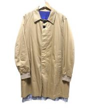 JohnUNDERCOVER(ジョンアンダーカバー)の古着「ロングコート」 ベージュ