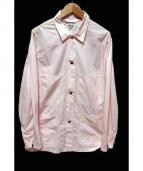 orSlow(オアスロウ)の古着「ユーティリティー カバーオール」|ピンク