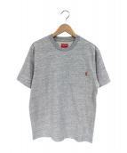 SUPREME(シュプリーム)の古着「ポケットTシャツ」|グレー