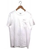 Noah(ノア)の古着「ポケットTシャツ」|ホワイト