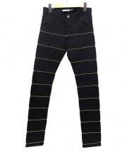 JOHN LAWRENCE SULLIVAN(ジョンローレンスサリバン)の古着「パンツ」 ブラック