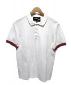 RAF SIMONS×FRED PERRY(ラフシモンズ×フレッドペリー)の古着「ポロシャツ」|ホワイト