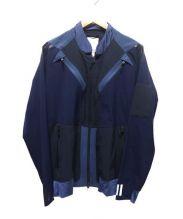 adidas originals(アディダスオリジナル)の古着「トラックジャケット」 ネイビー