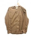 sanca(サンカ)の古着「ノーカラージャケット」|ベージュ