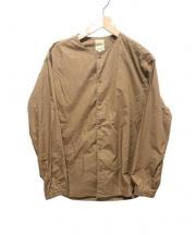 sanca(サンカ)の古着「ノーカラージャケット」 ベージュ