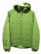 Columbia(コロンビア)の古着「キュンブーグレイシャージャケット」|ライトグリーン
