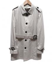 BURBERRY BLACK LABEL(バーバリーブラックレーベル)の古着「ライナー付トレンチコート」 ベージュ