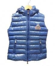 Pyrenex(ピレネックス)の古着「ダウンベスト」 ブルー
