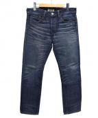 RonHerman(ロンハーマン)の古着「ウォッシュ加工デニムパンツ」|インディゴ