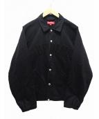 SUPREME(シュプリーム)の古着「Snap Front Twill Jacket」|ブラック