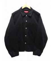 SUPREME(シュプリーム)の古着「Snap Front Twill Jacket」 ブラック